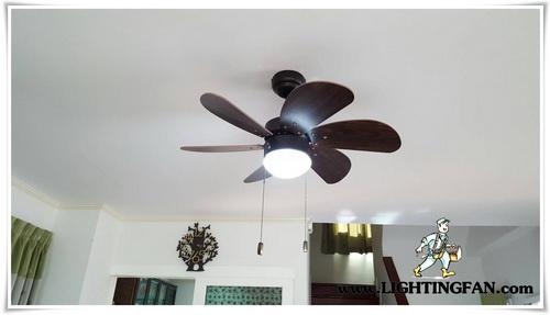 พัดลมเพดาน, พัดลมโคมไฟ