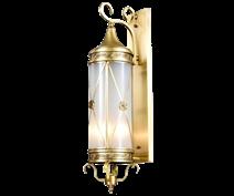 โคมไฟทองเหลือง